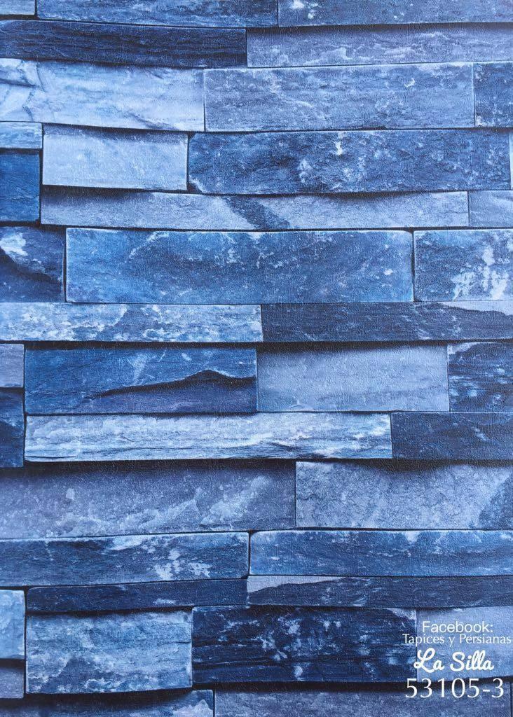 Papel tapiz piedra laja rollo grande de 15mts2 mas for Papel imitacion piedra barato