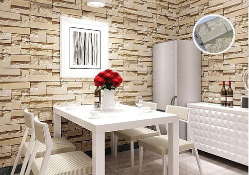 papel tapiz piedra ptdc02 + envío gratis