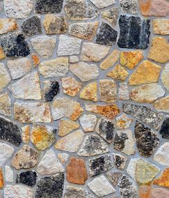 Papel Tapiz Piedras Rocas Ladrillos Adhesivo Pared Rustico