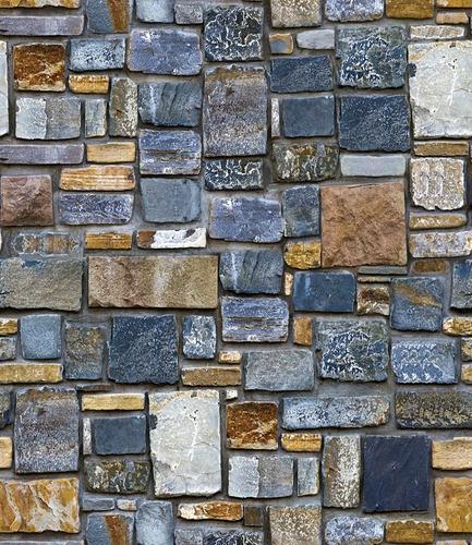 papel tapiz piedras rocas ladrillos adhesivo pared sala