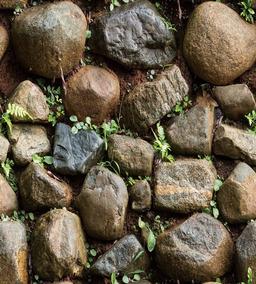 Papel Tapiz Piedras Rocas Ladrillos Adhesivo Rustico Comedor