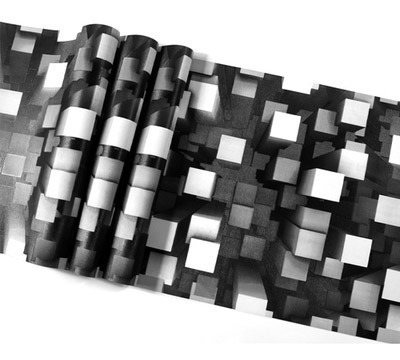 papel tapiz sala comedor antro cuadros textura negro blanco