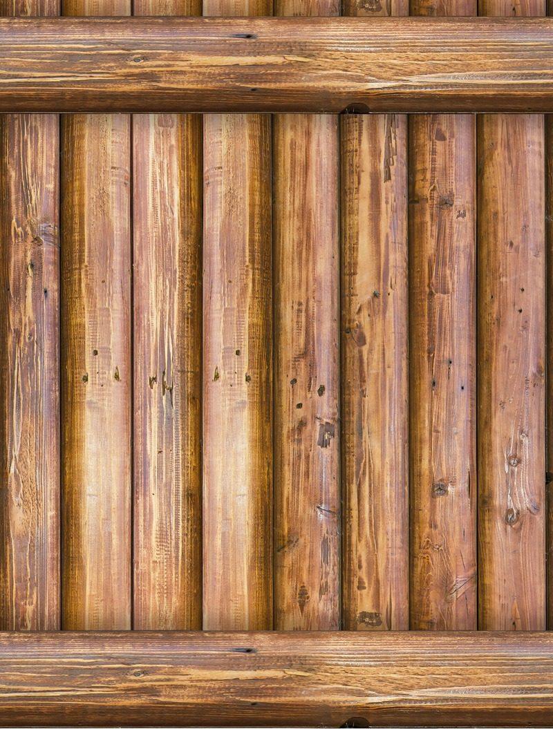 Papel tapiz tablas de madera cafe autoadherible vintage - Papel vintage pared ...