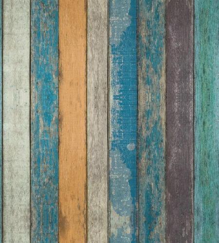 papel tapiz tablas de madera vintage autoadherible pared