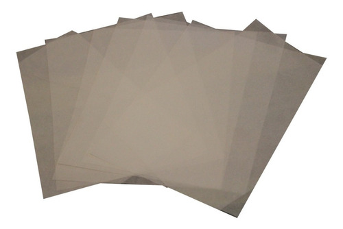 papel teflonado térmico transfer sublimar vinilo estampar teflonados antiadherentes (10 unidades a3) - blormast