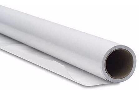 papel termocolante dupla face . rolo com 50 metros x 43cm