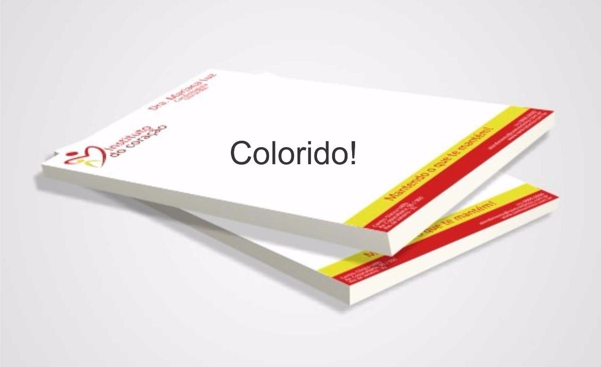 1d5ba832a Papel Timbrado 300 Unid - A4 Colorido - R$ 120,00 em Mercado Livre