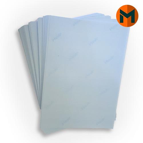 papel transfer a4 fundo azul sublimático 100 folhas o melhor