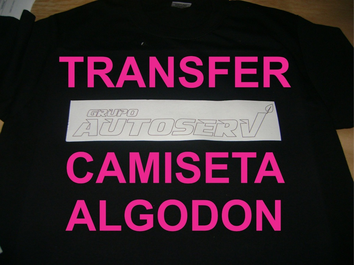 d96c4bbc77 Papel Transfer Camisetas Maxima Calidad Tela Oscura 5 Hojas ...