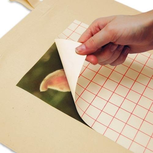 papel transfer doble carta colores claros algodón (unid) a3