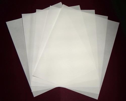 papel vegetal texturizado  tamaño carta