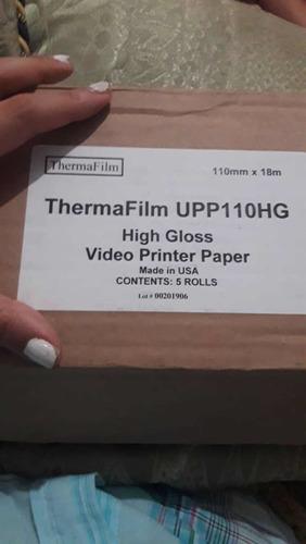 papel video printer upp110hg