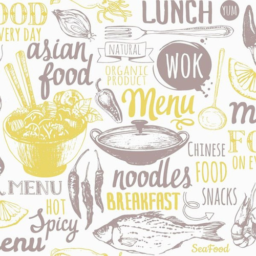 papel vinilico muresco 37241 cocina wok beige soul