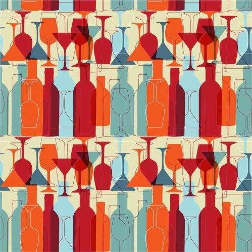 papel vinílico taça e vinho (55cmx300cm)