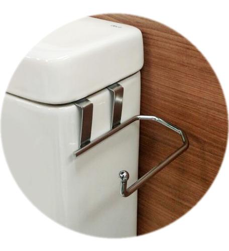 papeleira suporte porta papel higiênico para caixa descarga