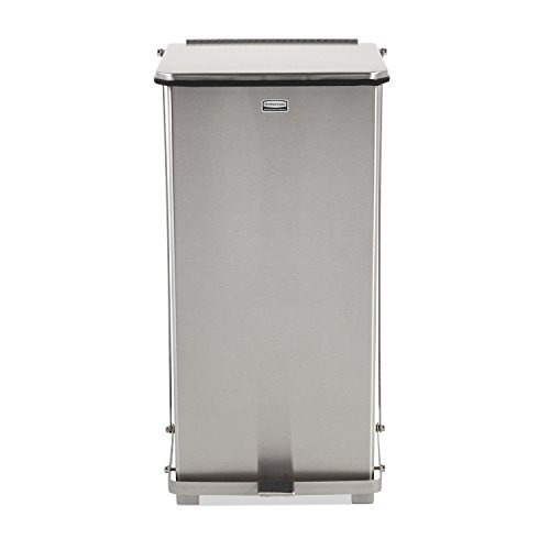 papelera acero inoxidable rubbermaid commercial fgst24ssrb
