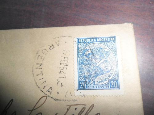 papeleria 1954 sobre evita peronismo peron estampilla sello