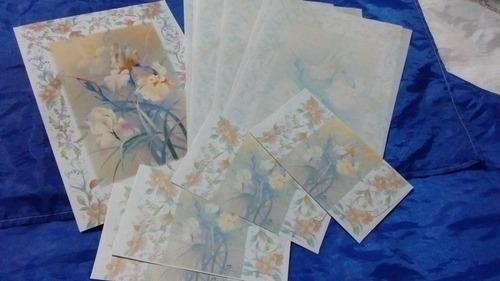 papeles cartas coleccionables
