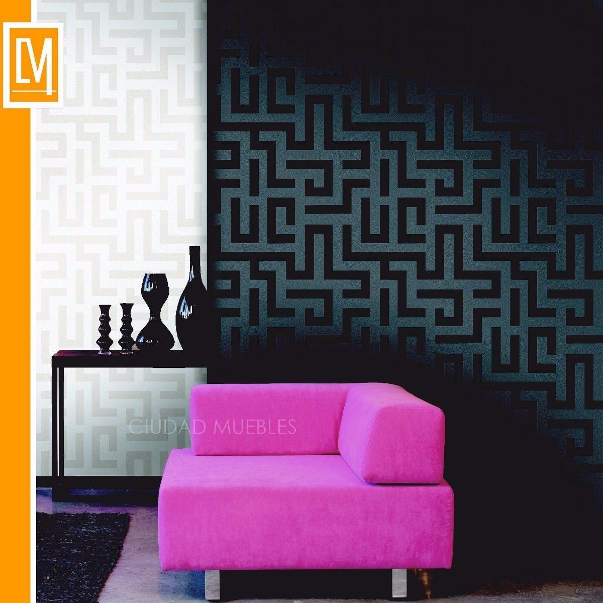 papeles empapelado vinilizados pared muresco moderno iara