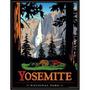 Yosemite Parque Nacional - California - Lámina 45x30 Cm.