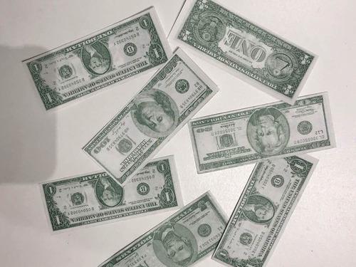 papelitos confeti dolar billete maquina lanza papel fiestas