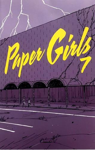 paper girls #5-10 - similar stranger things goonies aliens
