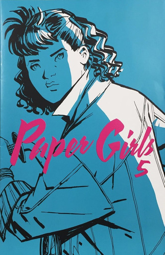 paper girls #5 - ed. planeta - similar a stranger things
