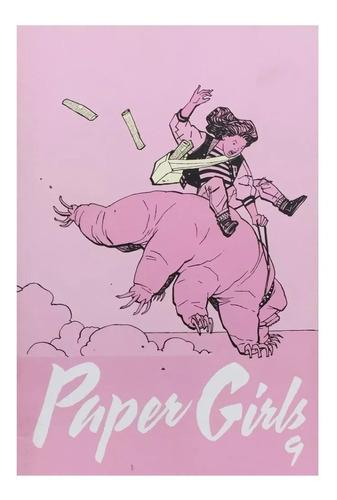 paper girls #9 - ed. planeta - similar a stranger things