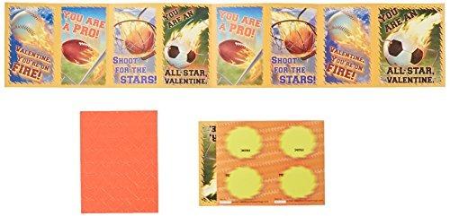 paper magic hot sports valentine tarjetas de intercambio (32