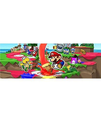 paper mario: color splash - edición estándar de wii u