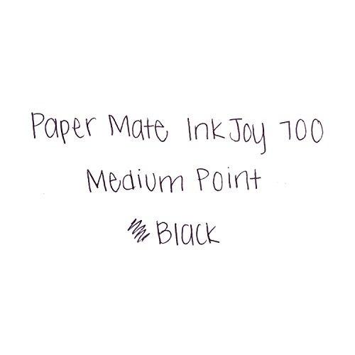 paper mate inkjoy 700rt bolígrafo retráctil, punto medio, b