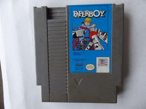 paperboy nintendo nes zonagamz