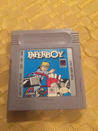 paperboy original para gameboy