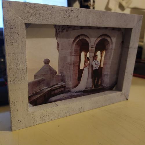 papercraft - cuadros / portaretratos para armar en papel