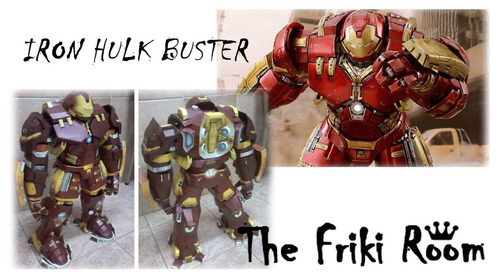 papercraft iron hulk buster