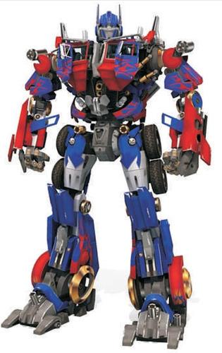 papercraft optimus prime la mejor version !