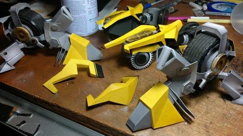 papercraft optimus transformers animales