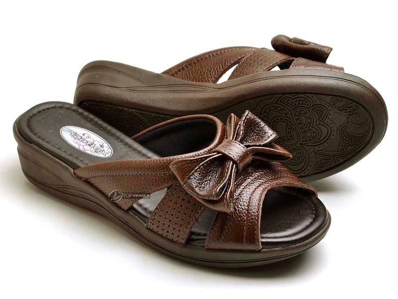 013e02177a papete sandália tamanco feminino couro ortopédico diabéticos. Carregando  zoom.