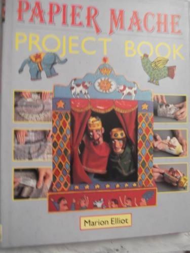 papier mache project book elliot en ingles tapa dura lujo