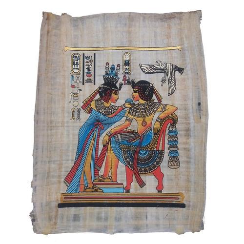 papiro egípcio autêntico original faraó pronta entrega
