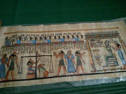 papiro  egípcio original do egito tamanho grande  ofertas
