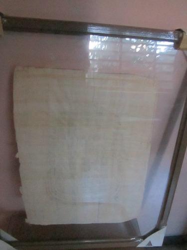 papiro egipcio tutankammon enmarcado