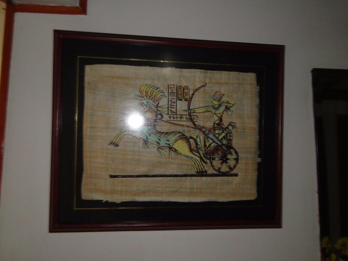 Papiros Egipcios Originales Enmarcados En Vidrio Mate - $ 499.000 en ...