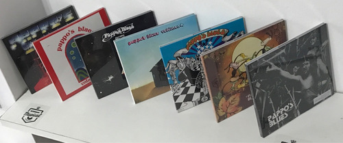 pappo blues lote 7 cds volumen 1 2 3 4 5 6 7 nuevo