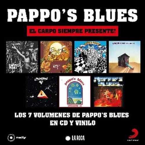 pappo blues reediciones 2017 vol 1 al 7 lote 7 cds completo
