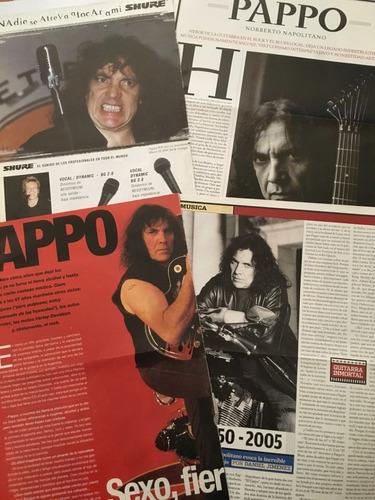 pappo // gran lote de material de prensa