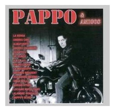 pappo pappo & amigos 1 cd nuevo