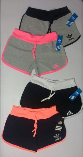 paq 12 shorts unitalla con envio moda dama deportivos gym