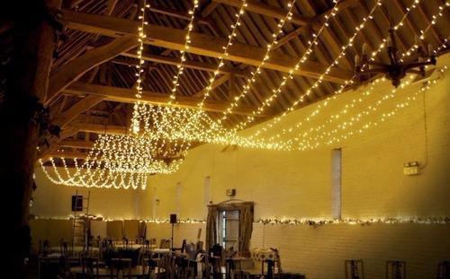 paq luz led 20mts 5 series blanco calido vintage boda fiesta