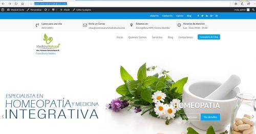 paq. pyme hosnting, dominio web y diseño de pagina incluido